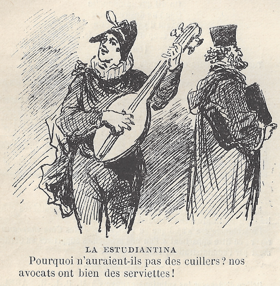 Humor frances - Le Monde Illustre. 13-06-1878. Pag 245