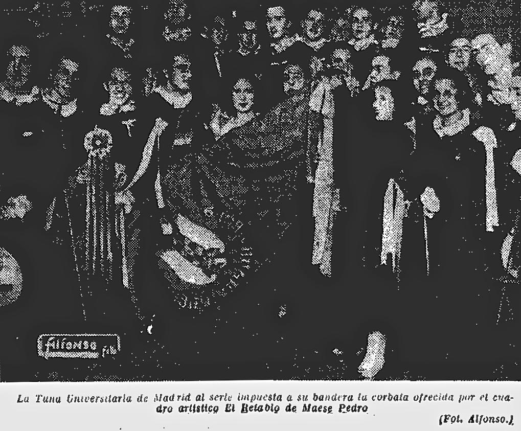 Tuna Universitaria de Madrid de la Central - La Libertad Madrid. 2-2-1934