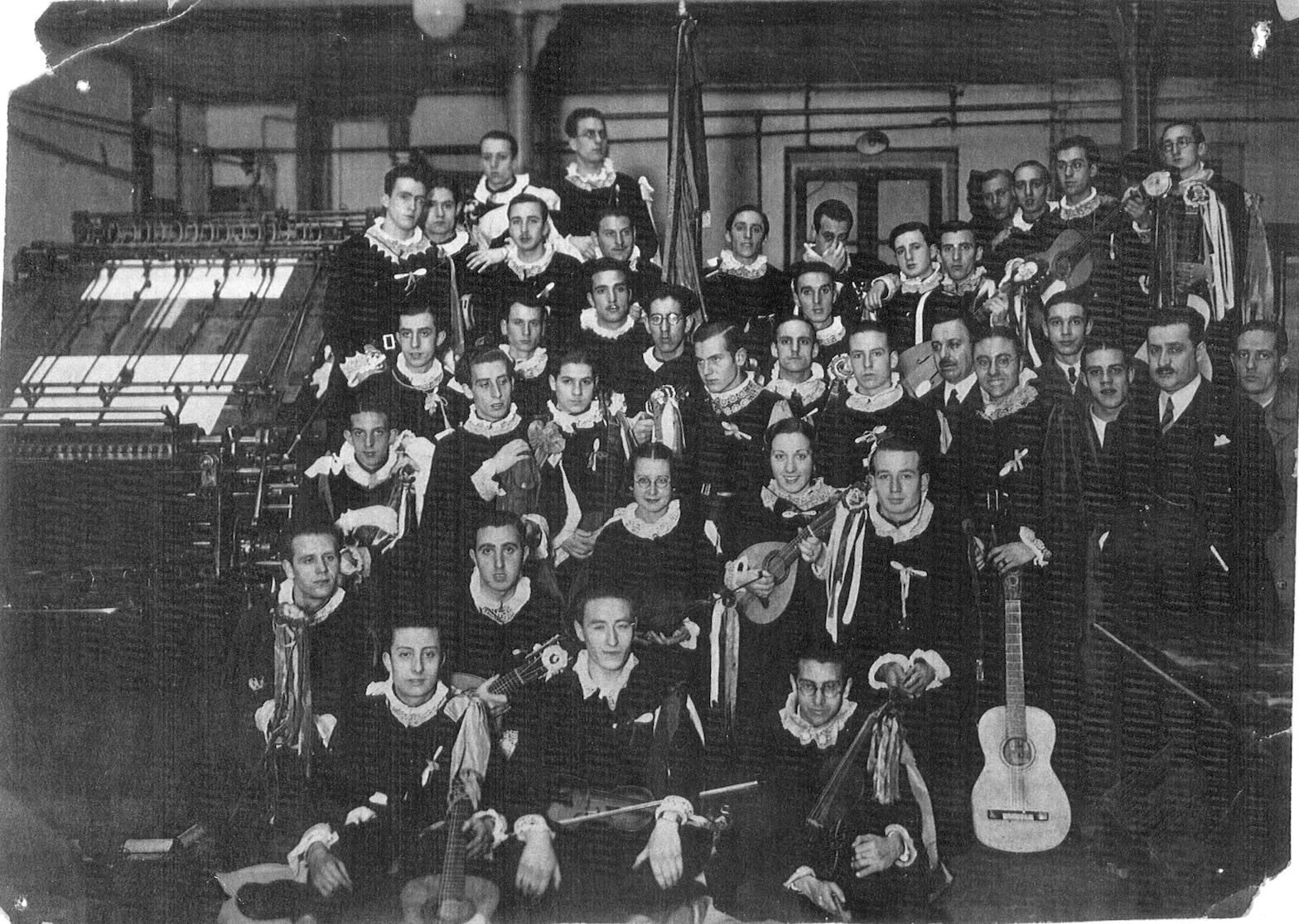 Tuna de la Universidad Central de Madrid 1935