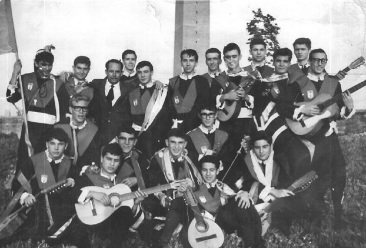 Tuna de la Universidad Laboral de Sevilla - 1968