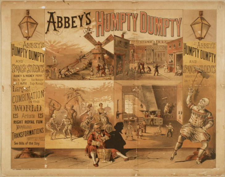 Estudiantina Espanola Figaro - Abbeys Humpty Dumpty and the Spanish Students 1880 - Library of Congress