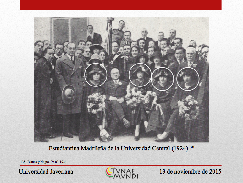 Estudiantina Madrilena de la Universidad Central 1924