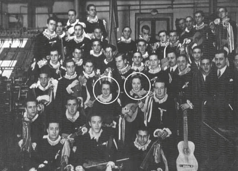 Tuna de la Universidad Central de Madrid 1933b